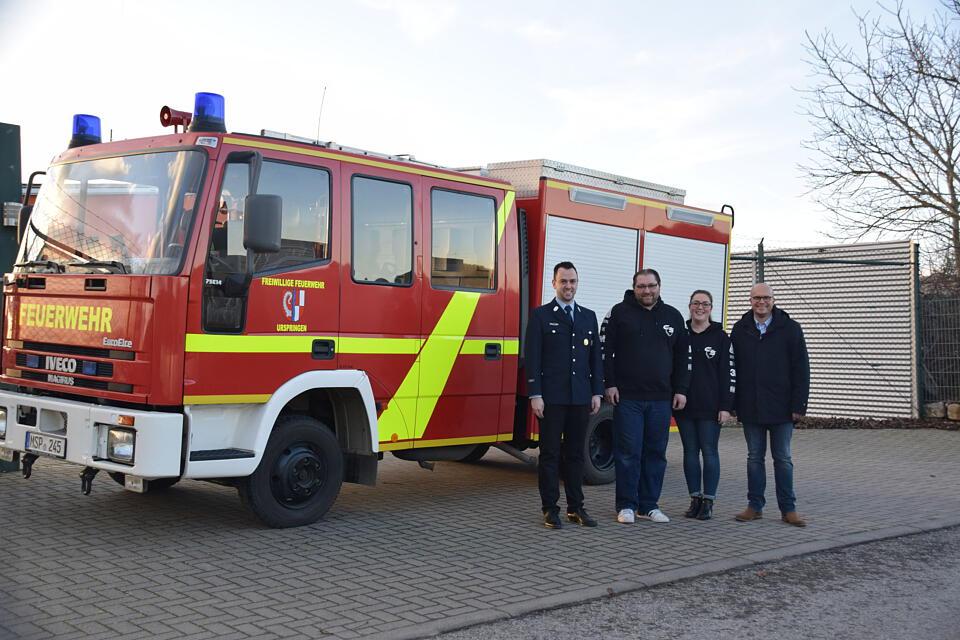 Car Skinz Feuerwehr Urspringen Foto Main-Post